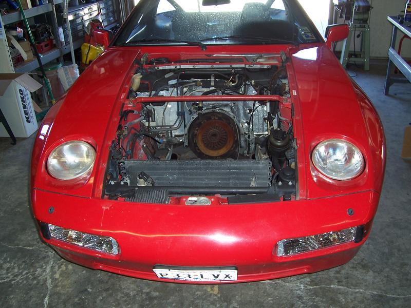Porsche 928 ls swap